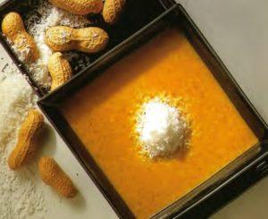 Соус из кокоса и карри с арахисом