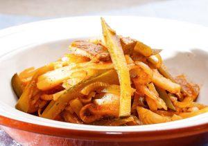 Мясное азу с картофелем.