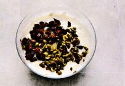 Несладкий чизкейк с вялеными помидорами и маслинами.