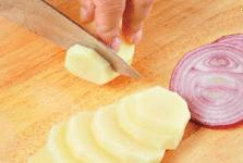 Картофельный гратен.