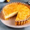 Пирог с апельсиново-творожной начинкой.