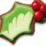 Праздничное печенье.