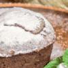 Шоколадный лава-кейк.
