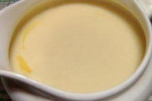 Сырный соус.
