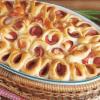 Пирог с варёно-копчёной колбасой.