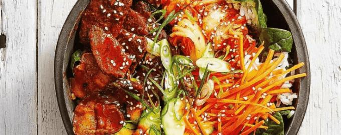 Рис с острым гарниром по-азиатски в скороварке.