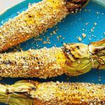 Кукуруза на гриле.
