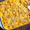 Макароны в сырно-овощном соусе.