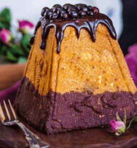 Шоколадно-карамельная пасха.