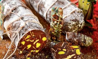 Шоколадная «колбаса».