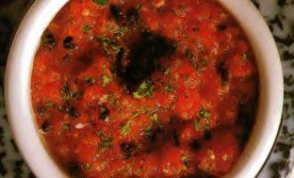 Холодный томатный соус