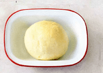 Лепёшки с сыром и зеленью в прованском стиле