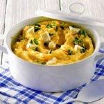 Сырное картофельное пюре