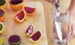 Желе в цитрусовых