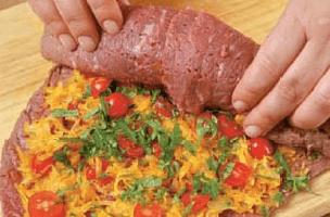 Рулет из говядины