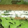 «Зелёный» бутерброд.