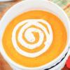Острый тыквенный суп.