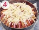 Пирог из батона с «Докторской» колбасой»
