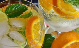Настойка на джине с апельсином