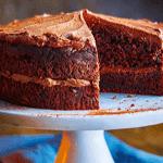 Шоколадно-кабачковый торт.
