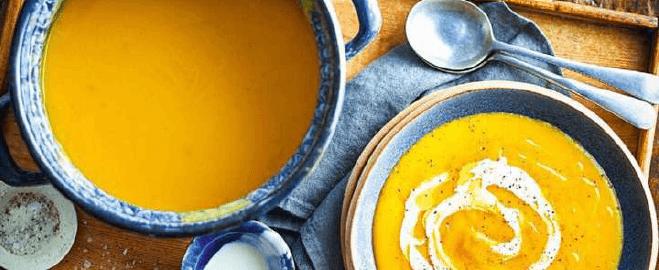 Овощной суп-пюре.