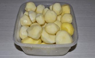 Тушеная говядина с молодым картофелем