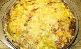 Курица с картошкой и сыром в духовке