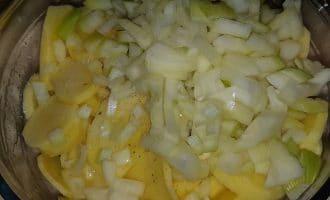 Пирог с картофелем и грибами