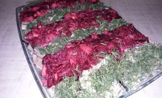 Салат из сельди по-новому