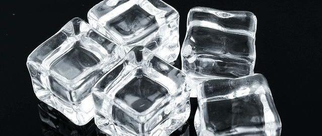 Как сделать кубики льда прозрачными