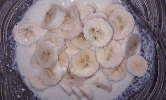 Творожная запеканка с бананом