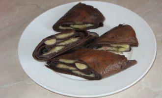 Шоколадный омлет