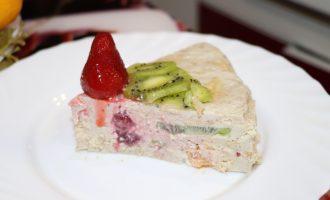 Торт из халвы без выпечки