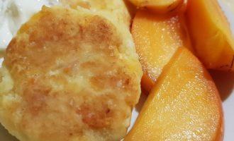 Сырники с хурмой