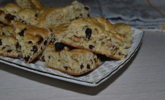 Печенье с финиками, арахисом и вяленой иргой