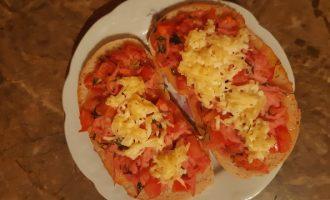 Рецепт приготовления горячих бутербродов