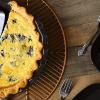 Пирог со шпинатом и рикоттой