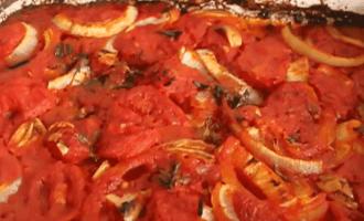 Макароны с томатным соусом