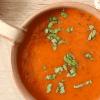 Суп-пюре из запеченных томатов