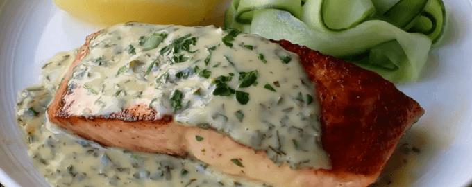 Сливочный соус для морепродуктов