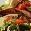 Салат капрезе с мясом