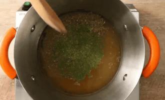 Суп из жареных помидоров