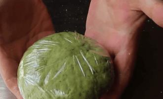 Паста из шпината
