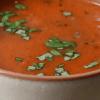Суп из запеченных помидоров