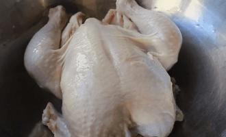Курица в тесте