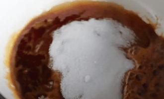 Карамельный заварной крем