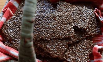 Крекеры из семян льна