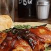 Курица и бекон в духовке