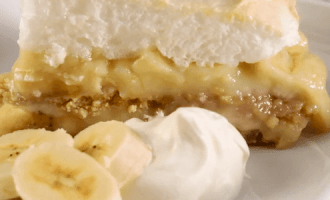 Торт с бананами, рецепт