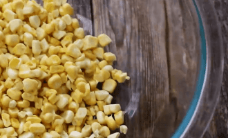Кукурузные оладьи
